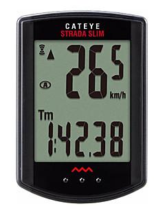billiga Cykling-CatEye® Strada Slim CC-RD310W Cykeldator Tidtagarur Trådlös LCD Hastighetsmätare Digital Utomhus Cykelsport