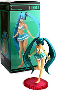 billige Anime cosplay-Anime Action Figurer Inspirert av Vokaloid PVC 13 CM Modell Leker Dukke