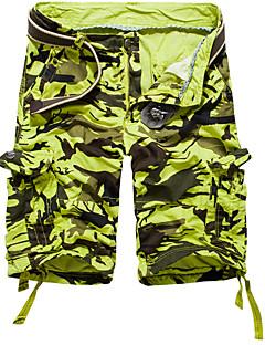 billige Herrebukser og -shorts-Herre Store størrelser Løstsittende Chinos Bukser Kamuflasje