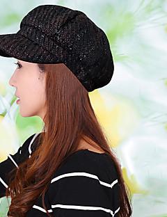 billige Hatter til damer-Unisex Kontor Beret / Solhatt / Baseballcaps Trykt mønster Bomull / Polyester / Høst / Vinter / Sixpence