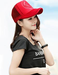 billige Trendy hatter-Unisex Kontor Skilue Solhatt Baseballcaps Ensfarget Bomull