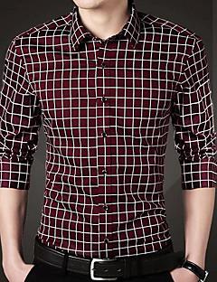 billige Herremote og klær-Skjorte - Stripet, Grunnleggende Forretning Herre