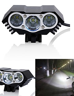 cheap Cycling-Bike Lights LED LED Cycling Waterproof 18650 3000 Lumens DC Powered Cycling/Bike