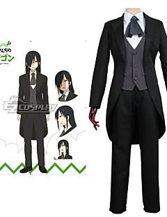 """billige Anime cosplay-Inspirert av Frøken Kobayashi's Dragon Maid Cosplay Anime  """"Cosplay-kostymer"""" Cosplay Klær Kjoler Annen Kort Erme Langermet Halsklut"""