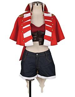 """billige Anime cosplay-Inspirert av Programmene Frontier Cosplay Anime  """"Cosplay-kostymer"""" Cosplay Klær Annen Kortermet Frakk / Topp / Bukser Til Herre / Dame"""