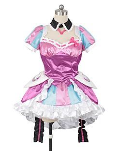 """billige Anime cosplay-Inspirert av Programmene Frontier Cosplay Anime  """"Cosplay-kostymer"""" Cosplay Klær Annen Kortermet Skjørte / Kjole / Sokker Til Herre / Dame Halloween-kostymer"""