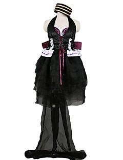 """billige Anime cosplay-Inspirert av Programmene Frontier Cosplay Anime  """"Cosplay-kostymer"""" Cosplay Klær Annen Ermeløs Kjole / Sløyfe / Mer Tilbehør Til Herre / Dame Halloween-kostymer"""