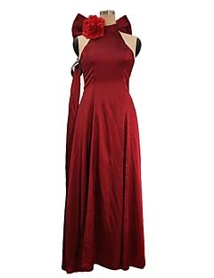 """billige Anime cosplay-Inspirert av Programmene Frontier Cosplay Anime  """"Cosplay-kostymer"""" Cosplay Klær Annen Ermeløs Mer Tilbehør / Dress / Nakkeklær Til Herre / Dame Halloween-kostymer"""