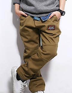 tanie Odzież dla chłopców-Spodnie Dla chłopców Jendolity kolor Wiosna Lato Niebieski Navy Blue Khaki