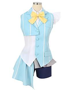 """billige Anime cosplay-Inspirert av Programmene Frontier Cosplay Anime  """"Cosplay-kostymer"""" Cosplay Klær Annen Kortermet Halsklut / Trøye / Topp Til Herre / Dame Halloween-kostymer"""