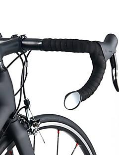 billiga Cykling-Bar slutet cykel spegel Cykel, justerbar Flexibel, Säkerhet Cykling / Cykel / Racercykel / Mountainbike Glas Svart - 1pcs