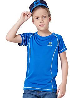 baratos Camisetas para Trilhas-Camiseta de Trilha Ao ar livre Secagem Rápida Montanhismo Sertão Fitness Respirabilidade Camiseta N/D Exercicio Exterior