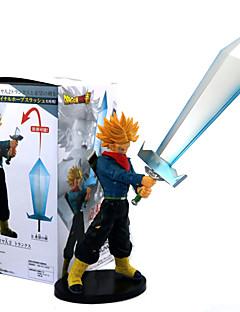 billige Anime cosplay-Anime Action Figurer Inspirert av Dragon Ball Saiyan PVC 21 CM Modell Leker Dukke