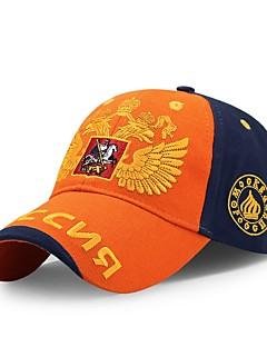 billige Hatter til damer-Unisex Kontor Solhatt Baseballcaps Fargeblokk Bomull