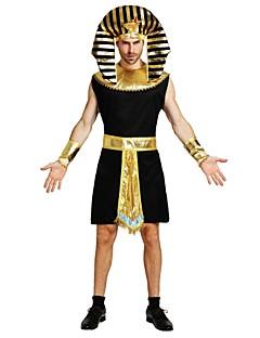 baratos Trajes da Noite das Bruxas-Fantasias Egípcias Roupa Unisexo Dia Das Bruxas Carnaval Dia dos Mortos Dia do Papai Noel Baile de Máscaras Dia dos namorados Aniversário