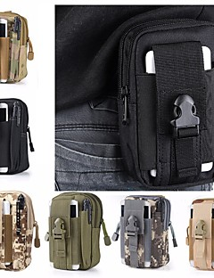 זול תיקי גב ותיקים-1.5L פאוצ'ים - משקל קל, לביש קמפינג, Military בד אוקספורד ירוק צבא, הסוואה, חאקי