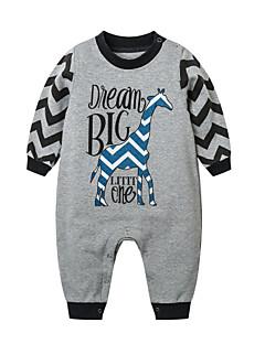 billige Babytøj-Baby Unisex Ensfarvet Langærmet En del