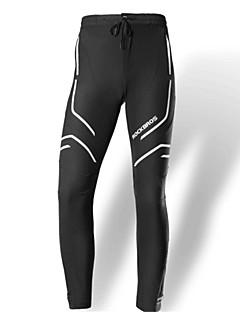 billige Sykkelbukser,Shorts,Strømpebukser, Tights-Unisex Sykkelbukser Sykkel Bukser Ensfarget Svart / Svart / Hvit Sykkelklær