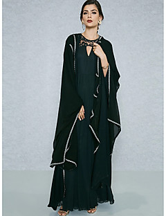cheap Women's Dresses-BENEVOGA Women's Sophisticated Street chic Shift Swing Abaya Dress - Solid Colored, Lace up