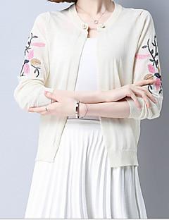 tanie Swetry damskie-Damskie Urocza Podstawowy Bolerko Jendolity kolor