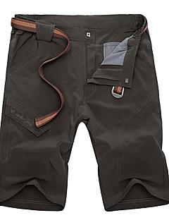 baratos Calças e Shorts para Trilhas-Homens Shorts de Trilha Ao ar livre Secagem Rápida, Respirabilidade, Redutor de Suor Shorts / Calças Exercicio Exterior / Multi-Esporte