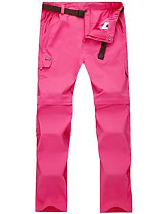 baratos Calças e Shorts para Trilhas-Mulheres Calças de Trilha Ao ar livre Secagem Rápida, Respirabilidade, Redutor de Suor Calças / Calças Convertíveis Exercicio Exterior /