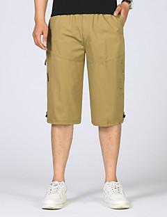 billige Herrebukser og -shorts-Herre Militær Shorts Bukser Ensfarget