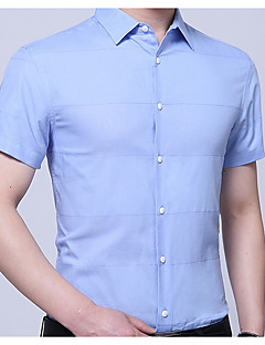 billige Herremote og klær-Skjorte Herre - Stripet Forretning