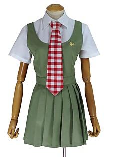 """billige Anime Kostymer-Inspirert av Dangan Ronpa Cosplay Anime  """"Cosplay-kostymer"""" Cosplay Klær Annen Kortermet Trøye / Kjole / Slips Til Unisex Halloween-kostymer"""