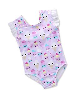 billige Badetøj til piger-Børn Baby Pige Trykt mønster Frugt Uden ærmer Badetøj