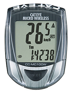 billiga Cykling-CatEye® Micro Wireless CC-MC100W Cykeldator Tidtagarur bakgrundsbelysning Hastighetsmätare Utomhus Cykelsport