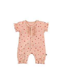 billige Babytøj-Baby Unisex Ensfarvet Kort Ærme En del