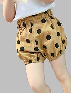 billige Bukser og leggings til piger-Børn Pige Prikker Shorts