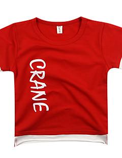 billige Overdele til drenge-Børn / Baby Drenge Geometrisk Kortærmet T-shirt