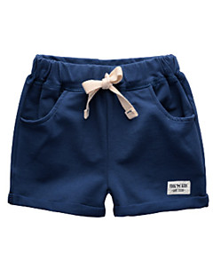 billige Drengebukser-Børn / Baby Drenge Ensfarvet Shorts