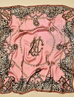 baratos Cachecóis da Moda-Mulheres Activo Raiom, Quadrangular Estampado