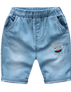 billige Jeans til piger-Børn / Baby Unisex Geometrisk Jeans