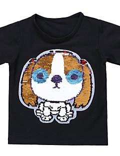 billige Overdele til drenge-Børn Baby Drenge Trykt mønster Kortærmet T-shirt