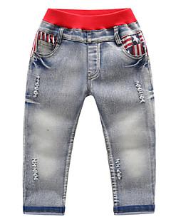 billige Jeans til drenge-Børn Drenge Geometrisk Jeans