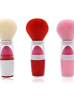 billiga Sminkborstar-1 dussin Makeupborstar Professionell Rougeborste Syntetiskt Hår Fullständig Täckning Plast