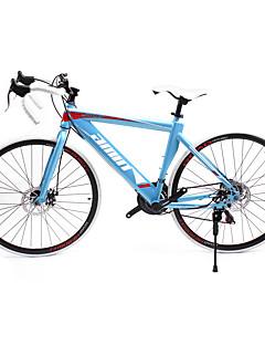 baratos Total Promoção Limpa Estoque-Bicicletas de estrada Ciclismo 21 velocidade 26 polegadas / 700CC SHIMANO TX30 Freio a Disco Duplo Comum Manocoque Comum Aço / #