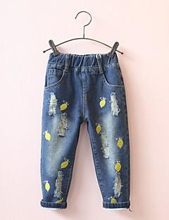 billige Bukser og leggings til piger-Baby Unisex Citron Frugt Bukser