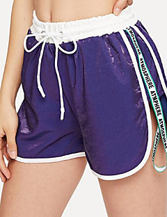 baratos Calças e Shorts para Trilhas-Mulheres Shorts de Trilha Ao ar livre Respirabilidade, Elasticidade Alta Shorts / Calças Exercicio Exterior / Multi-Esporte
