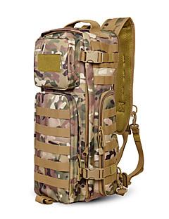 billiga Ryggsäckar och väskor-20-35 L Ryggsäckar - Regnsäker, Bärbar, Mateial som andas Utomhus Camping, Lagsporter Nylon Brun, Grå, Kamoflage