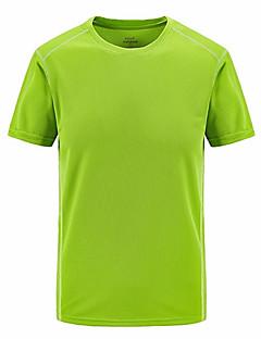 billige Herre Toppe-Rund hals Herre - Ensfarvet Basale Sport T-shirt / Kortærmet