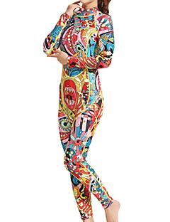 お買い得  ウェットスーツ/ダイビングスーツ/ラッシュガードシャツ-HISEA® 女性用 フルウェットスーツ 3mm SCR ネオプレン ダイビングスーツ 長袖 バックファスナー クラシック / ファッション 春 / 夏