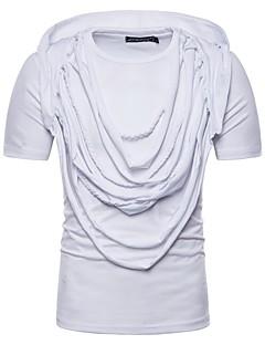 billige Herremote og klær-T-skjorte Herre - Ensfarget Grunnleggende