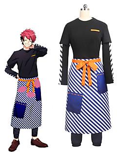 """billige Anime Kostymer-Inspirert av Cosplay Cosplay Anime  """"Cosplay-kostymer"""" Cosplay Klær Annen Langermet Topp / Bukser / Forkle Til Unisex Halloween-kostymer"""
