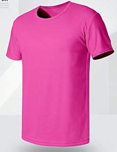 billige Herremote og klær-Rund hals Store størrelser T-skjorte Herre - Ensfarget / Kortermet