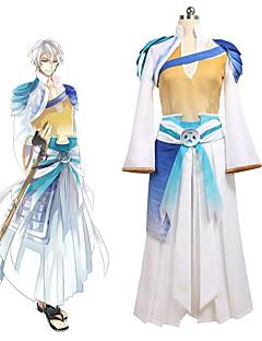 """billige Anime cosplay-Inspirert av Cosplay Cosplay Anime  """"Cosplay-kostymer"""" Cosplay Klær Annen Langermet Bandasje / Topp / Bukser Til Unisex Halloween-kostymer"""